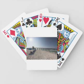 Lounge Chairs at Panama City Beach Pier Bicycle Playing Cards
