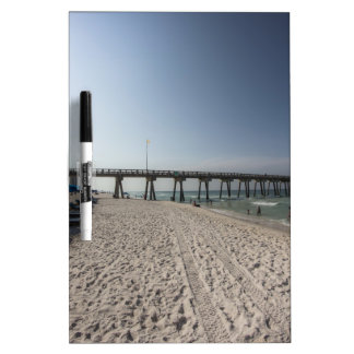 Lounge Chairs at Panama City Beach Pier Dry Erase Board