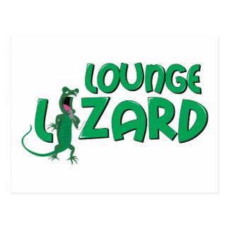 Lounge Lizard Postcard