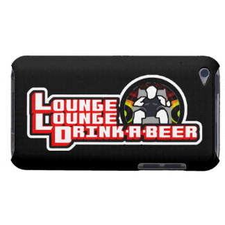 Lounge Lounge Drink a beer iPod Case-Mate Case
