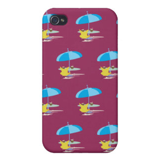 Lounging red 2 iPhone 4/4S cover