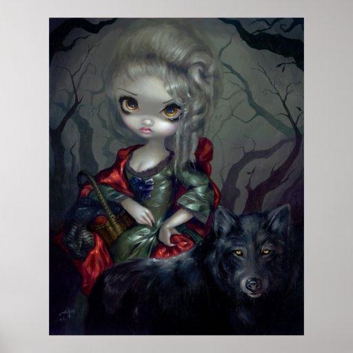 Loup-Garou: Le Petit Chaperon Rouge ART PRINT wolf