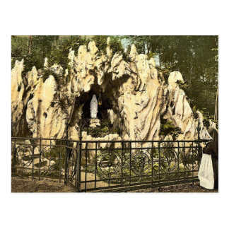 Lourdes Grotto, near the nunnery of Ingenbohl, Lak Postcard