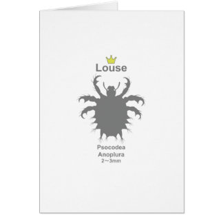 Louse g5 greeting cards