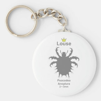 Louse g5 basic round button key ring