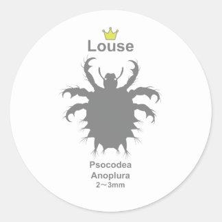 Louse g5 round sticker