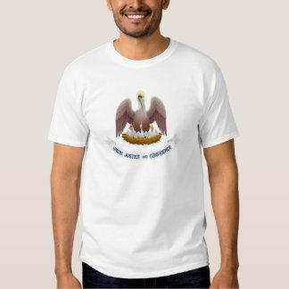 Lousiana Flag Theme 01 T-shirts