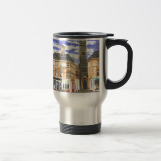 Louth Clock Tower Lincolnshire Travel Mug