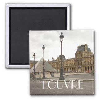 Louvre. Paris, France Magnet