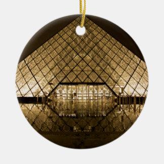 Louvre, Paris/France Round Ceramic Decoration