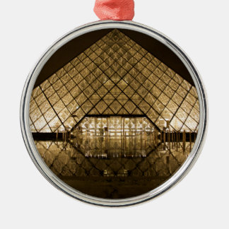 Louvre, Paris/France Silver-Colored Round Decoration