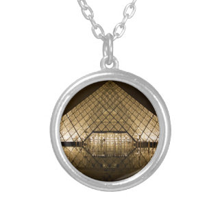 Louvre, Paris/France Silver Plated Necklace