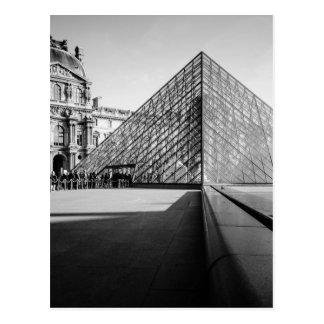 Louvre Postcard