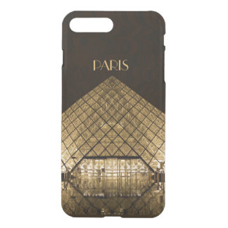 Louvre Pyramid iPhone X/8/7 Plus Clear Case