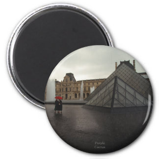 Louvre Pyramid Magnet