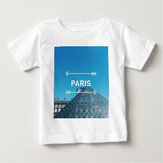 Louvre Pyramid Paris Baby T-Shirt