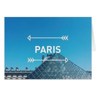 Louvre Pyramid Paris Card