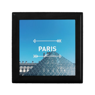 Louvre Pyramid Paris Gift Box