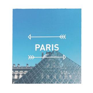 Louvre Pyramid Paris Notepad