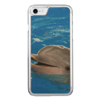 Lovable Dolphin Carved iPhone 7 Case