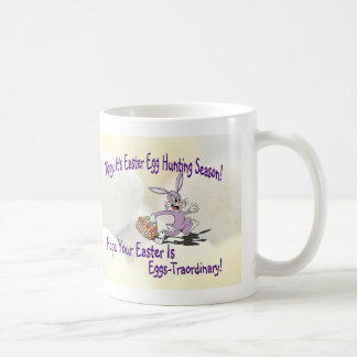 Lovable!! It's Easter Egg Hunting Season! Coffee Mugs
