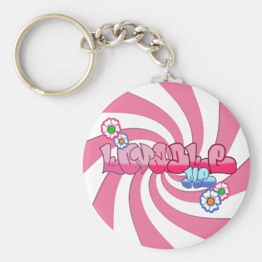 Lovable Me Basic Keychain