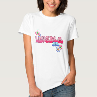Lovable Me Ladies Fitted Baby Doll T Shirt
