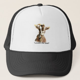 Lovable Old Goat fun Quote for Him Trucker Hat