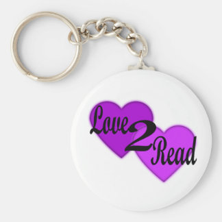 Love2Read Key Chain