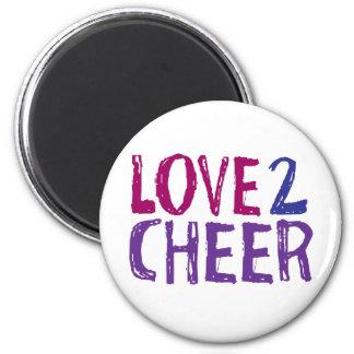 Love 2 Cheer Magnet