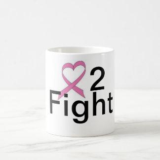 Love 2 Fight Design Line Basic White Mug