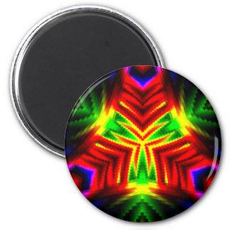 Love #5_ 6 cm round magnet
