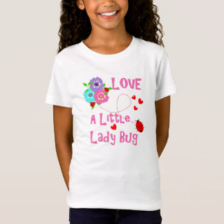 Love A Little Lady Bug Cute Kids T-Shirt