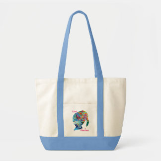 Love a Manatee Tote Canvas Bag