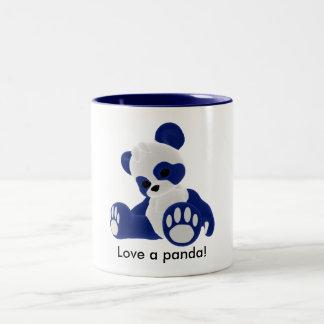 Love a panda! Two-Tone coffee mug
