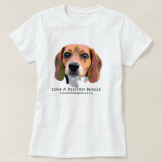 LOVE A RESCUED BEAGLE T-Shirt
