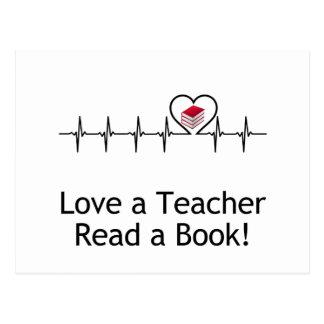 Love a Teacher Postcard