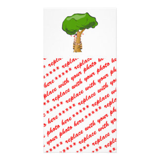 Love a Tree Day - Tree Hugger Personalized Photo Card