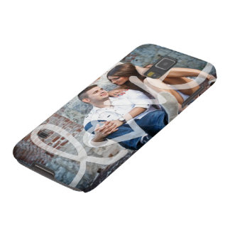 """""""love"""" add your photo galaxy s5 covers"""