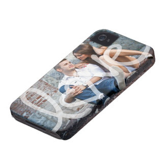 """""""love"""" add your photo iPhone 4 covers"""