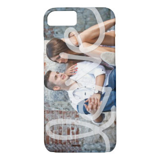 """""""Love"""" Add your photo iPhone 7 Case"""