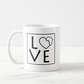 Love Africa Coffee Mug