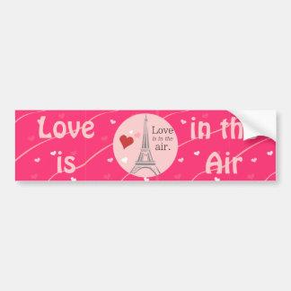Love air bumper sticker car bumper sticker