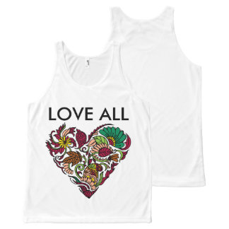 Love all All-Over print tank top