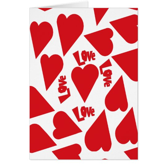 Love All Around Card