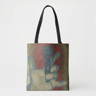 """""""Love"""" All-Over-Print Tote Bag"""