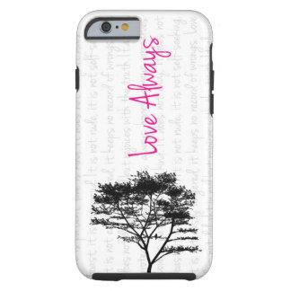 Love Always - Bird in Tree Tough iPhone 6 Case