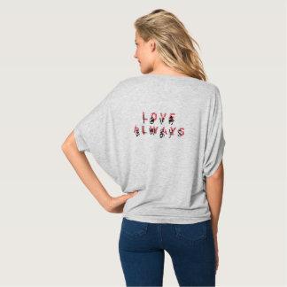 'Love Always' Flowy Circle Top