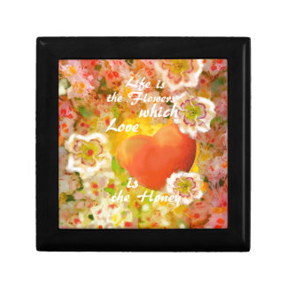 Love always is the honey in the life. gift box