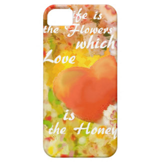 Love always is the honey in the life. iPhone 5 case